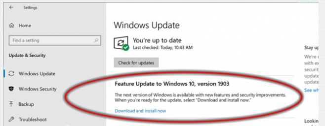 Cosa c'è nuovo Windows 10 2004, Aggiornamento Maggio 2020 (20H1)? Tutte novità funzioni upgrade (video) - upgrade build windows 10