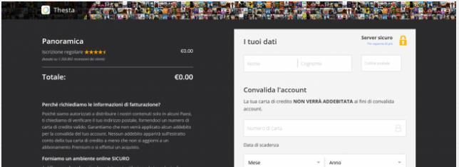 Dilaga truffa streaming pirata - Screenshot_2020-05-02 Credit Card