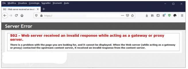 errori pagine Web, come capirli porvi rimedio (quando possibile)